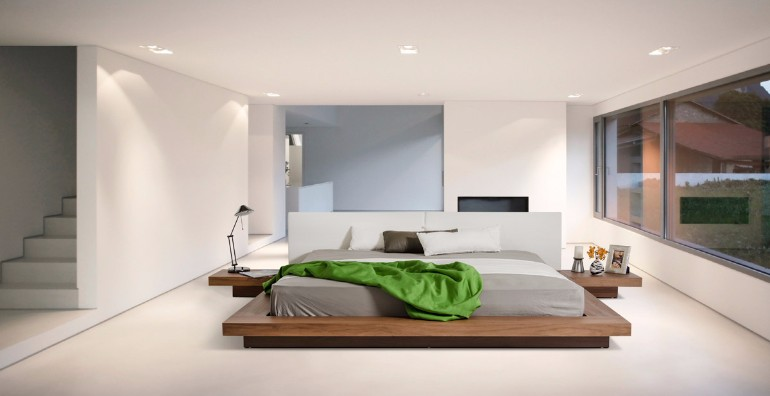 Get inspired by minimal bedroom designs master bedroom ideas for Bed minimalist design