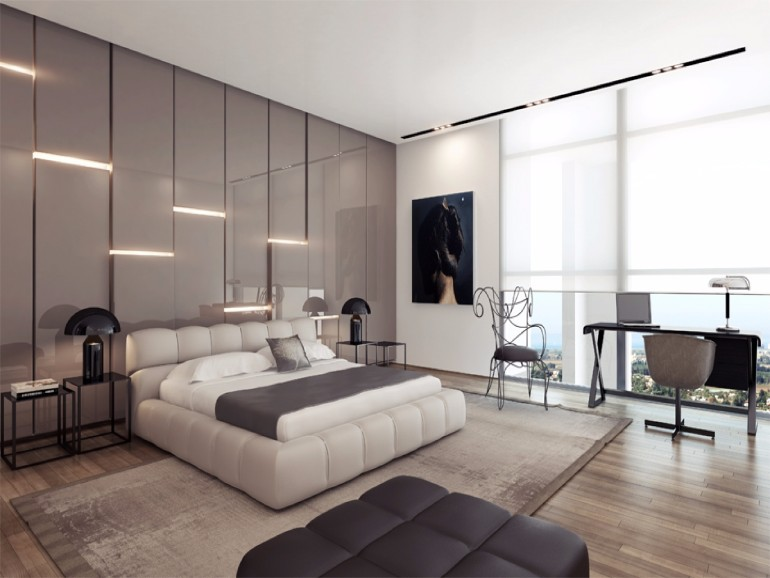 10 sleek and modern master bedroom designs master for New bedroom decorating ideas