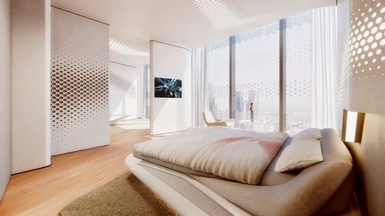 bedroom inspiration zaha hadid Modern Bedroom Inspirations by Zaha Hadid zahah hadid opus tower master bedroom design ideas bedroom inspiration interior design home decor luxury design