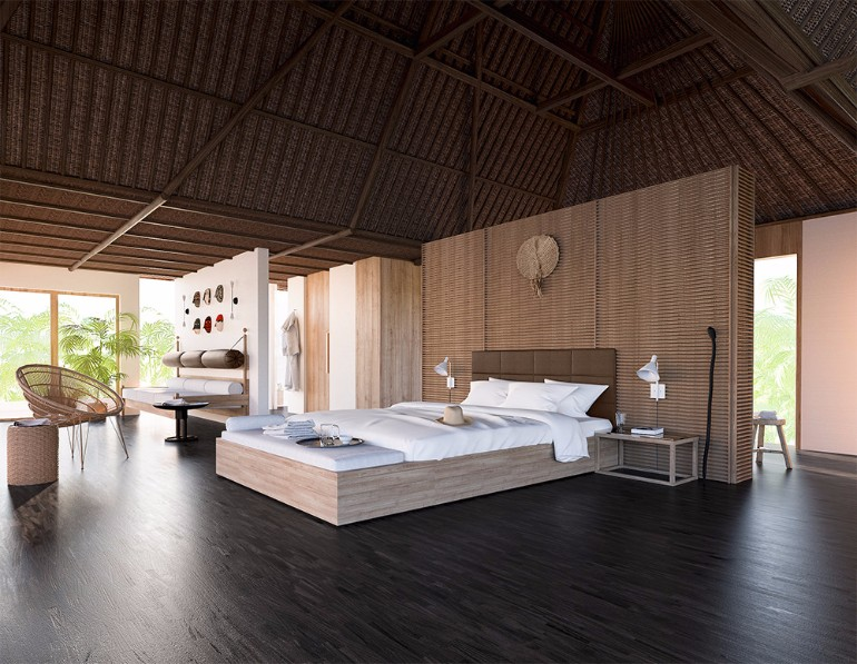 bedroom design Bedroom Designs by Top Interior Designers: Consort Design Consorts Fiji Getaway Douglas Fenton modern fiji bedroom design inspiration outdoor bedroom design ideas
