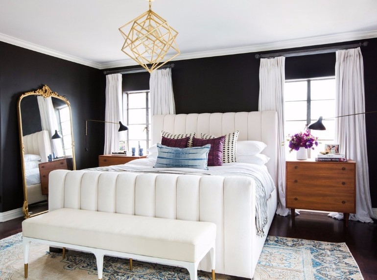 bedroom design Bedroom Designs by Top Interior Designers: Consort Design Shay Mitchell House Stylish Spanish Stunner Tessa Neustadt master bedroom inspiration ideas modern bedroom design consort design room ideas luxury bedroom decor