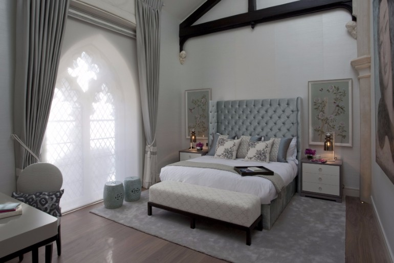 bedroom design Bedroom Designs by Top Interior Designers: TAYLOR HOWES Taylor Howes Knightsbridge bedroom modern master bedroom ideas grey tones interior design luxury exclusive bedroom top interior designers