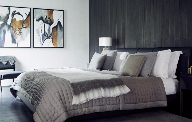 bedroom design Bedroom Designs by Top Interior Designers: TAYLOR HOWES Taylor Howes Mayfar Mews modern bedroom ideas master bedroom decor interior design grey tones luxury bedroom design ideas