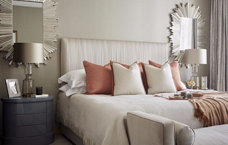 bedroom design Bedroom Designs by Top Interior Designers: TAYLOR HOWES Taylor Howes One Kensington Gardens luxury design british interior designers master design modern bedroom decor ideas