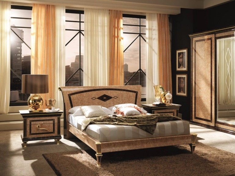 9 marvelous master bedrooms in art deco style master Art deco bedroom ideas