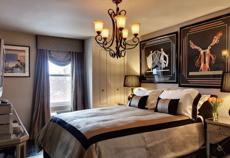 art bedroom decor 1 art deco design ideas beautiful chandelier modern