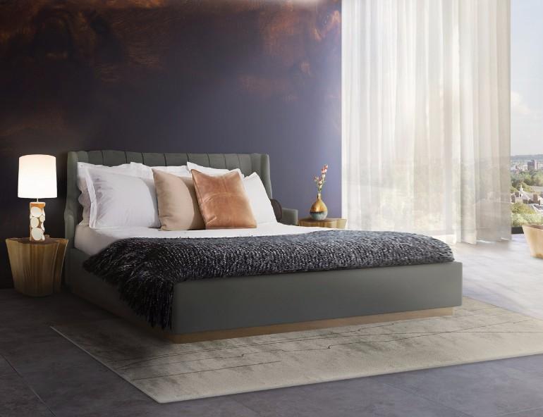 golden nightstand Master Bedroom Bling with Golden Nightstands ceanrio quarto eden mascara final 3 Recovered golden contemporary modern nightstand design ideas bedroom inspiration