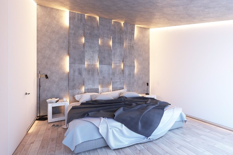 Stunning Bedrooms with Unique Lighting Designs – Master