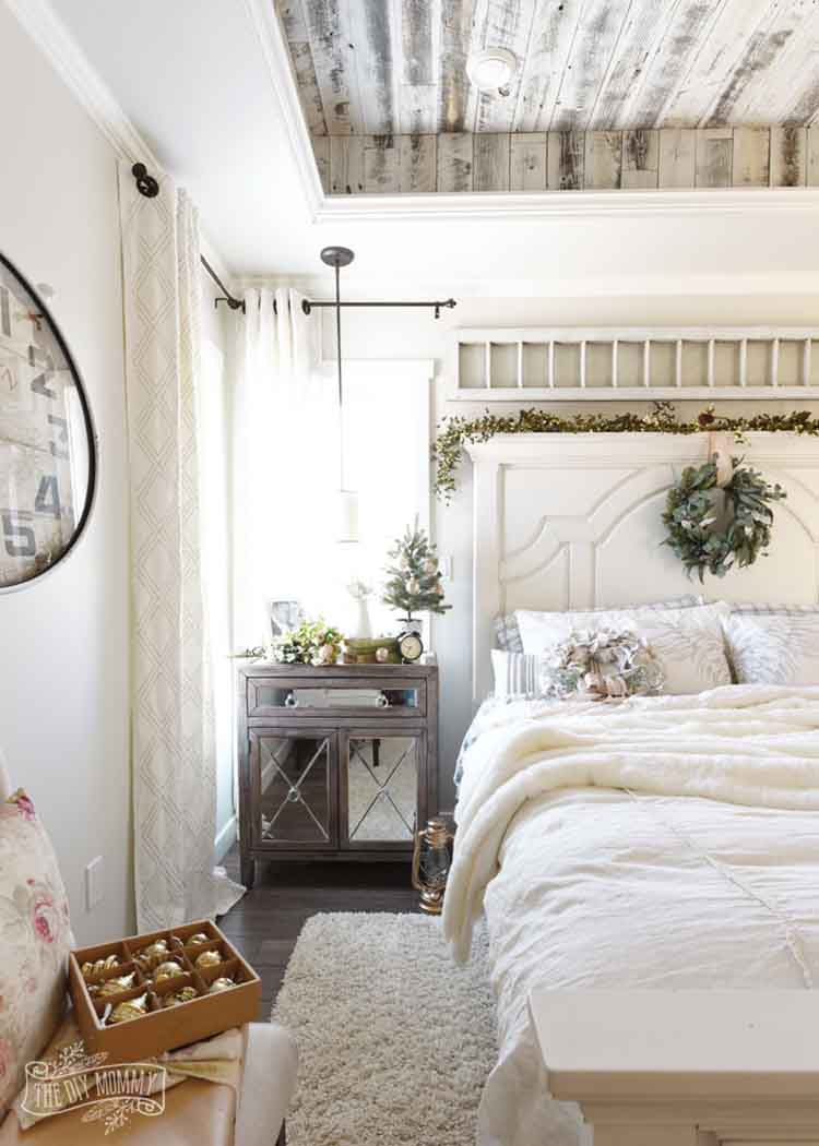 Cozy Bedroom Decor In Farmhouse Style Gorgeous Pretty Design White