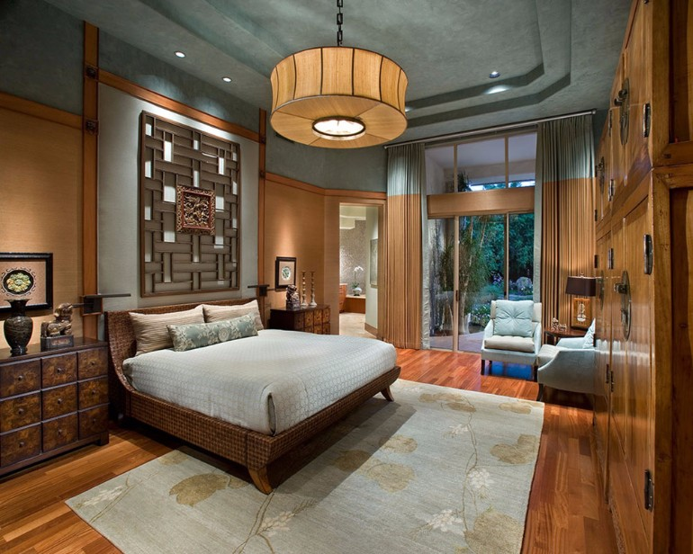 bedroom Art Deco 9 Marvelous Master Bedrooms in Art Deco Style modern art deco bedroom design ideas beautiful chandelier brown tones luxury design with a view room ideas bedroom design 1