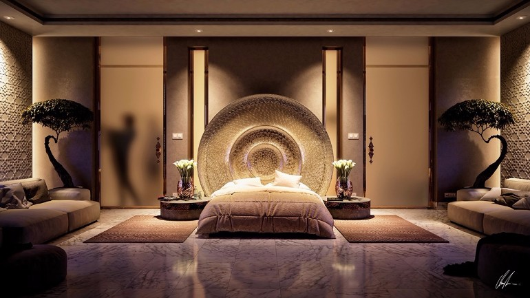 Stunning Bedrooms with Unique Lighting Designs – Master ...