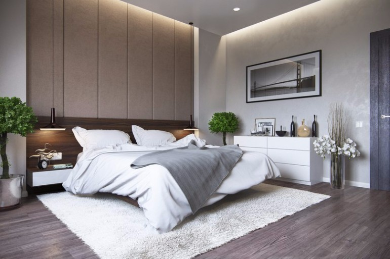 Discover the trendiest master bedroom designs in 2017 for Simple and sober bedroom designs