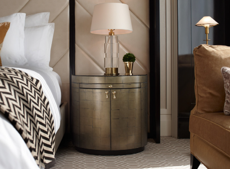 master bedroom Discover Our 100 Must See Master Bedroom Ideas Ebook round metal nightstand design concept for modern bedroom design ideas beautiful copper nightstand vintage bedroom 1