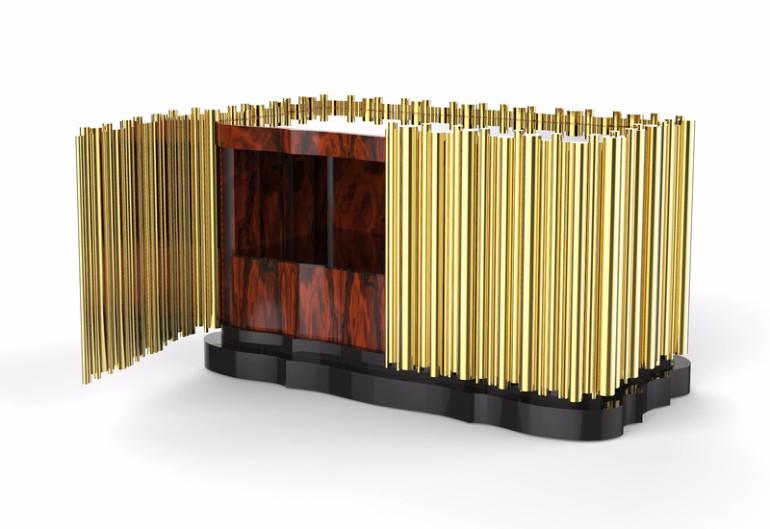 golden nightstand golden nightstand Master Bedroom Bling with Golden Nightstands symphony nightstand golden design ideas modern master bedroom design inspiration for master bedroom decor elegant nightstand