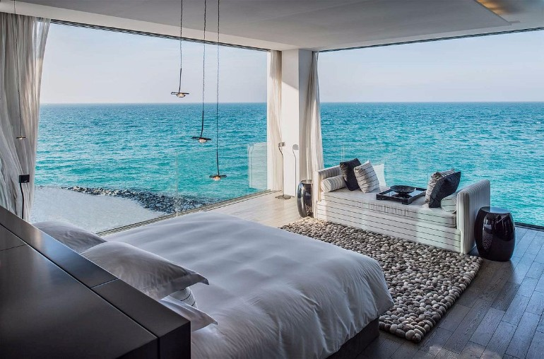 dream bedroom Dream bedrooms from all around the world Pt I zaya nurai island bedroom design with beautiful sea view modern bedroom ideas master bedroom decor interior hotel design