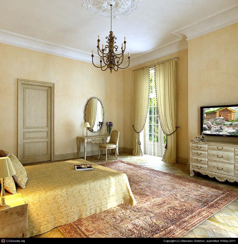 bedroom design Bedroom Designs by Top Interior Designers: Stanislav Orekhov Beautiful classical bedroom interior stanislav orekhov
