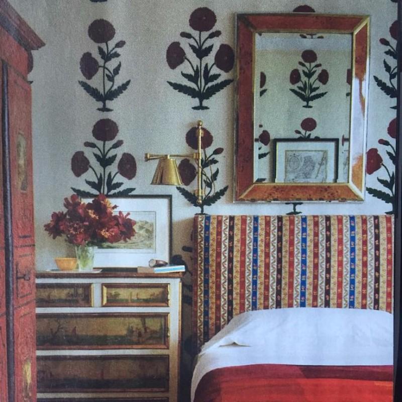 bedroom design Bedroom Designs By Top Interior Designers: Robert Couturier Bedroom In Berlin By Robert Couturier vintage bedroom design boho bedroom inspiration ideas