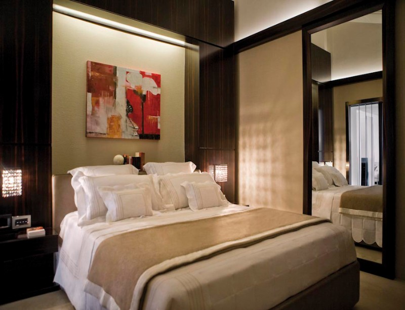 Bedroom design Bedroom Designs by Top Interior Designers: Tihany Design Casa manni roma master bedroom by tihany design modern bedroom ideas