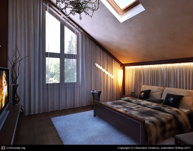 bedroom design Bedroom Designs by Top Interior Designers: Stanislav Orekhov Dream bedroom design inspiration by stanislav orekhov