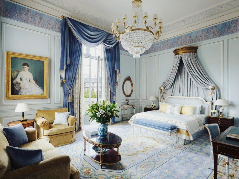 bedroom design Bedroom Designs by Top Interior Designers: Pierre-Yves Rochon Four Seasons George V Pierre Yves Rochon opulent luxury master bedroom ideas modern glamorous bedroom design