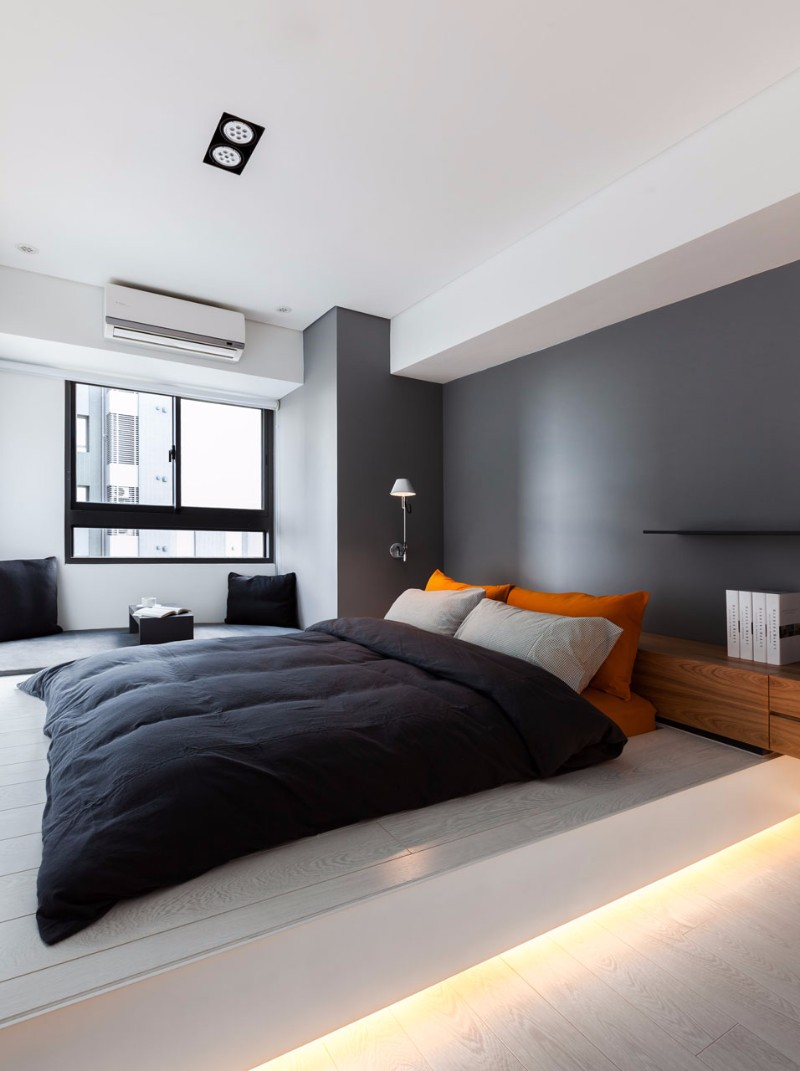 amazing bedroom 15 Amazing Bedroom Designs for Men Grey amazing men bedroom inspiration ideas modern contemporary loft interior design