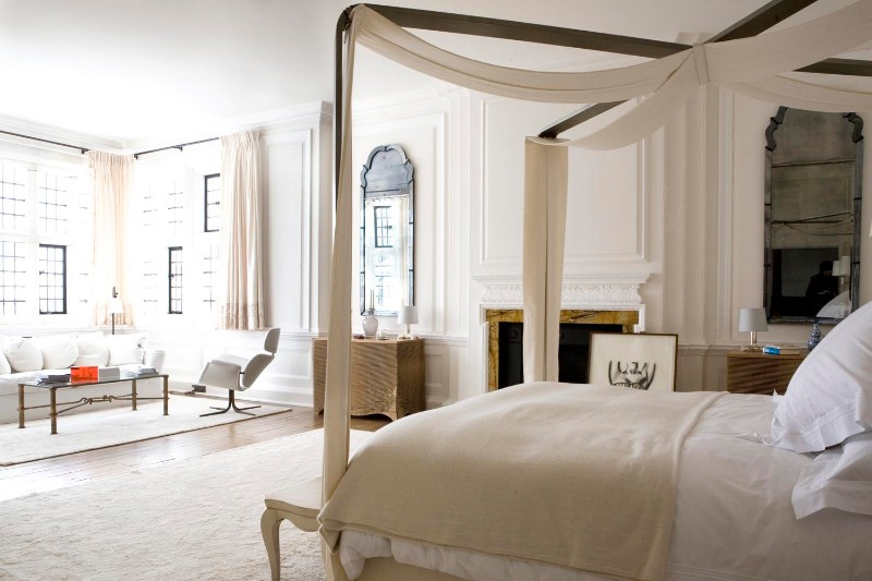 bedroom design Bedroom Designs By Top Interior Designers: Robert Couturier Hampshire bedroom robert coutirier bedroom design inspiration ideas modern bedroom design