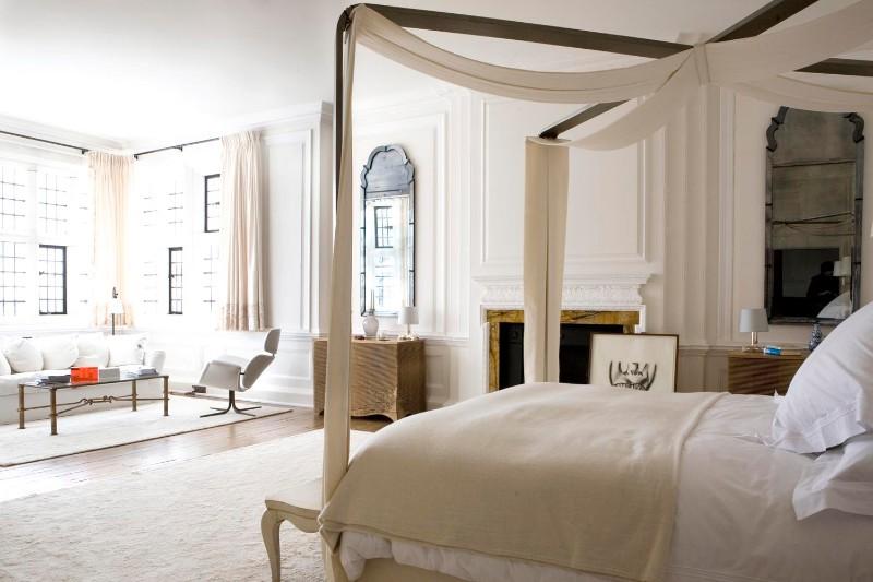 bedroom design Bedroom Designs By Top Interior Designers: Robert Couturier Hampshire bedroom robert coutirier bedroom design inspiration ideas modern bedroom design