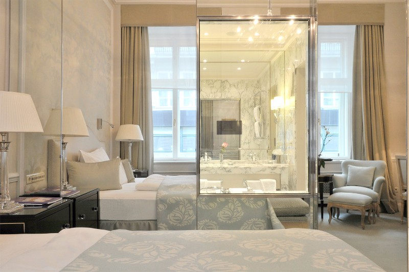 bedroom design Bedroom Designs by Top Interior Designers: Pierre-Yves Rochon Hotel Sasher Pierre Yves Rochon blue bedroom contemporary design modern master bedroom inspiration ideas 3
