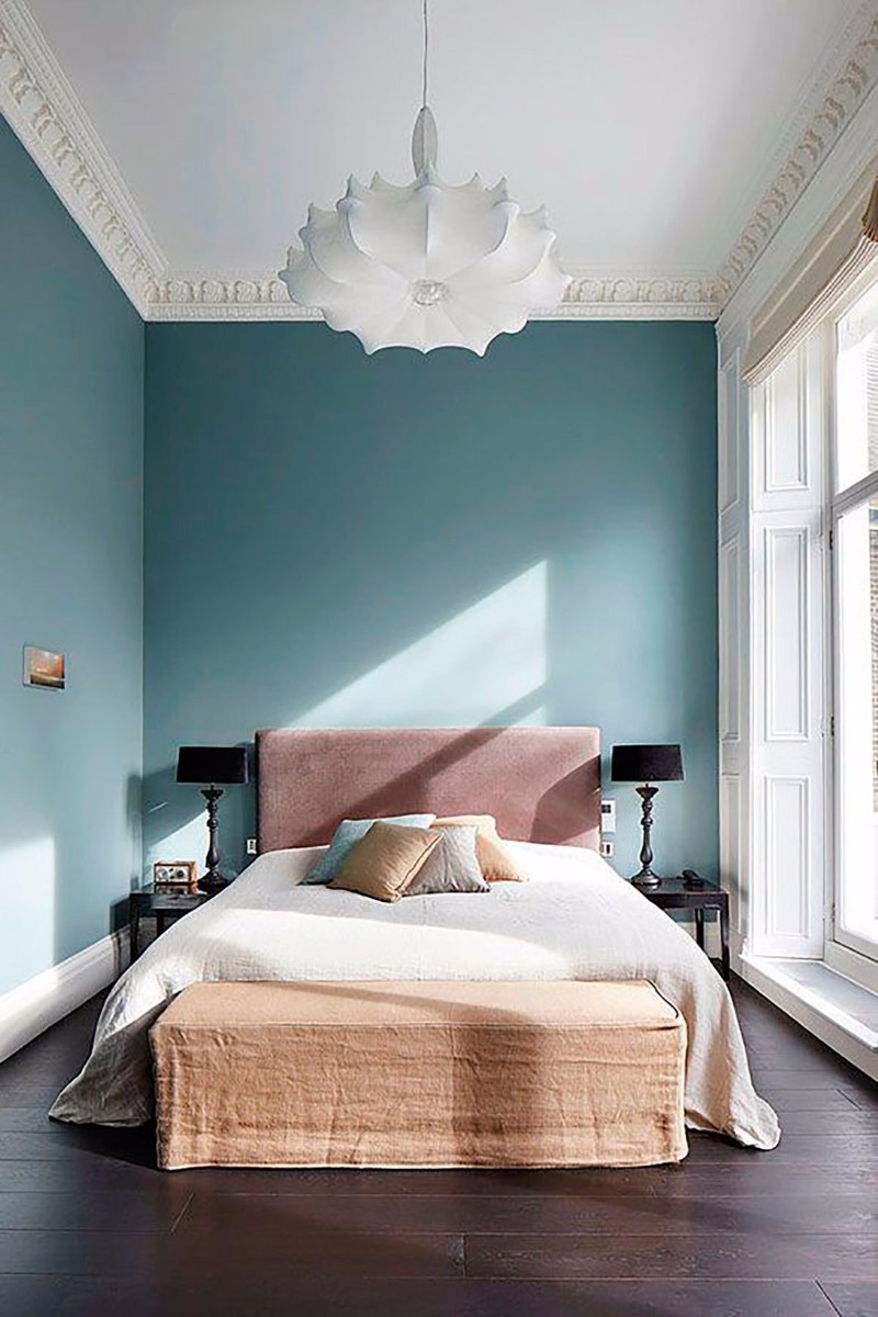 lighting design 10 Extraordinary Suggestions for Master Bedroom Lighting Design Sublime pink blue bedroom enchanting white chandelier hardwood floor