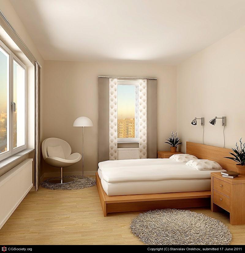 bedroom design Bedroom Designs by Top Interior Designers: Stanislav Orekhov Sublime white bedroom interior by stanislav orekhov