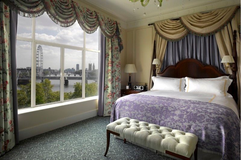 bedroom design Bedroom Designs by Top Interior Designers: Pierre-Yves Rochon The Savoy Hotel London England Pierre Yves Rochon Opulent Bedroom Design Inspiration Ideas