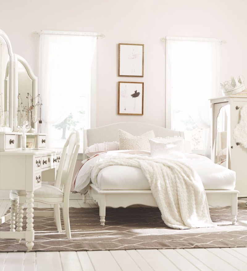 Kids Bedroom Packages Master Bedroom Furniture Kids: 10 Calm And Charming All White Bedrooms