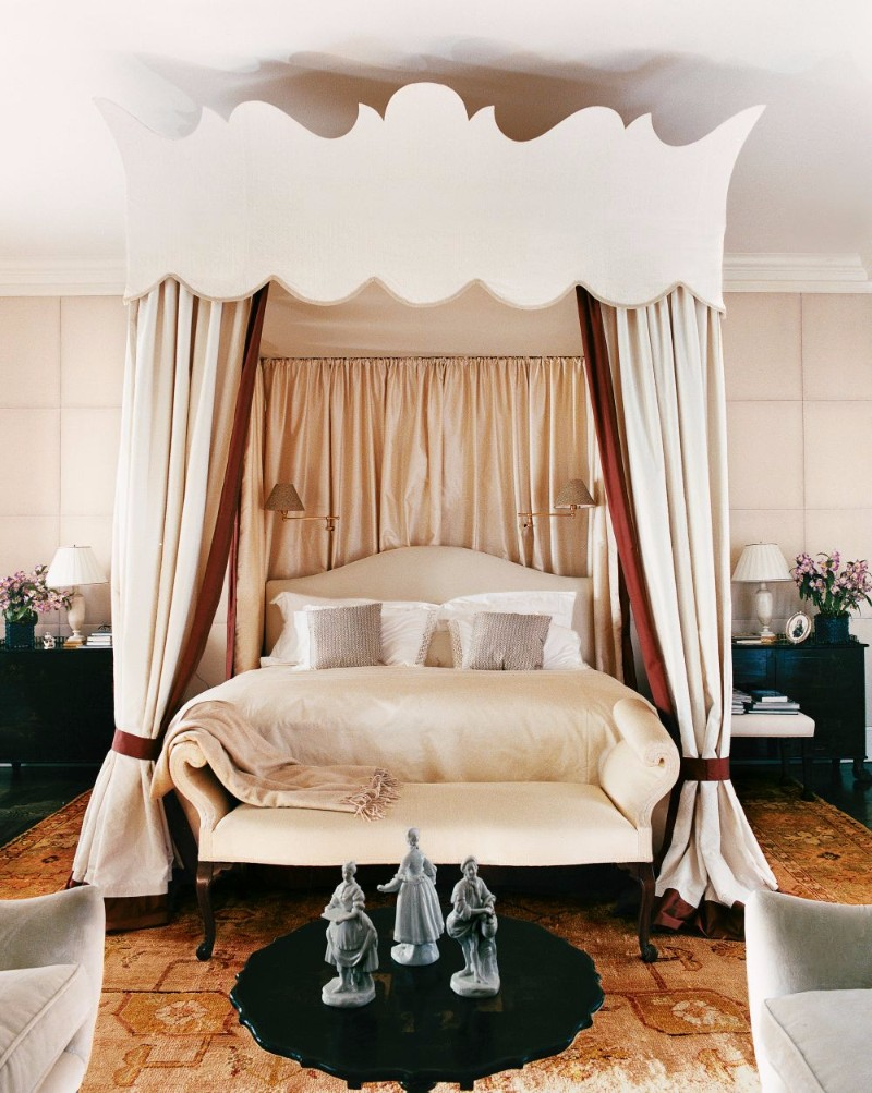 bedroom design Bedroom Designs By Top Interior Designers: Robert Couturier new york bedroom by robert couturier whimsical bedroom ideas modern bedroom design