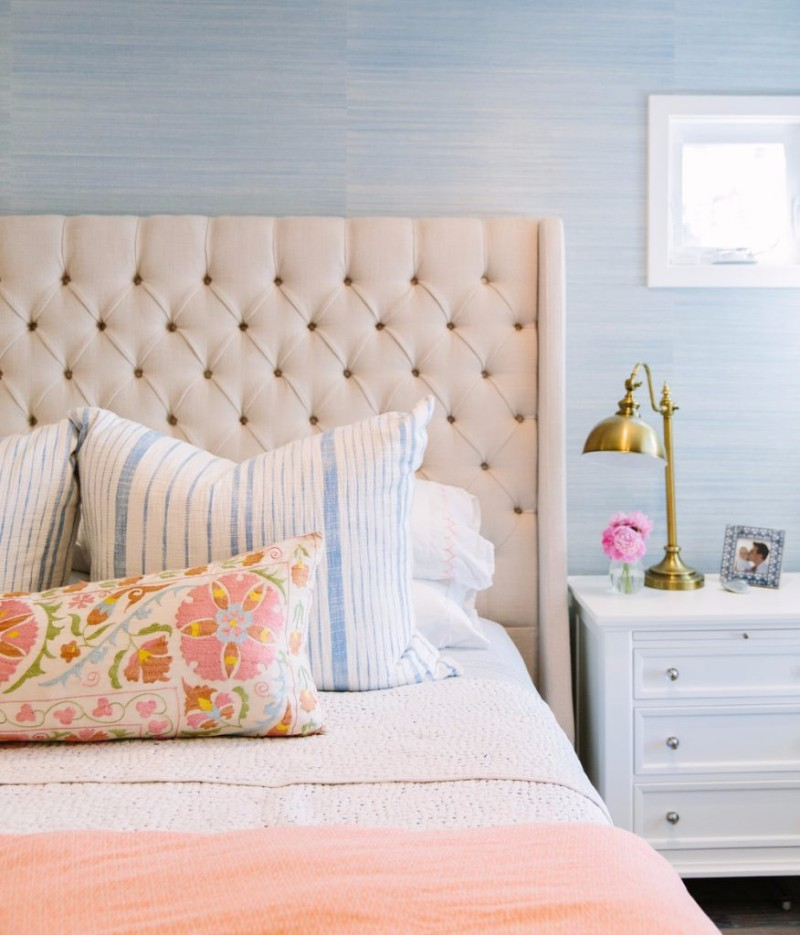 Headboard Decorating Ideas Part - 34: Tufted Headboard Tufted Headboard Sublime Tufted Headboards For Master Bedroom  Décor Pink Tufted Headboard Design Bed