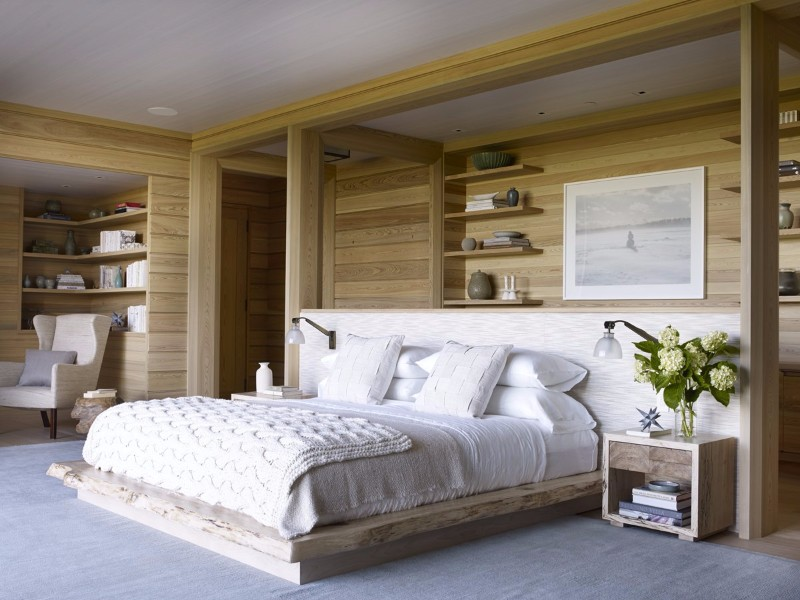 beach style 10 Beach Style Bedrooms with a Grain of Salt Beach Style Bedroom by Ike Kligerman Barkley Modern Master Bedroom Design Ideas
