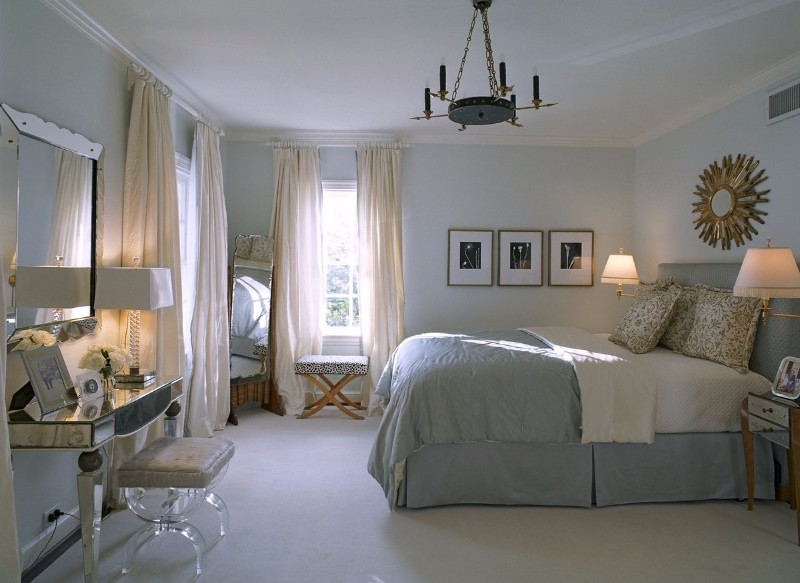 beach style 10 Beach Style Bedrooms with a Grain of Salt Beach Style bedroom by Jan Showers Modern Master Bedroom ideas