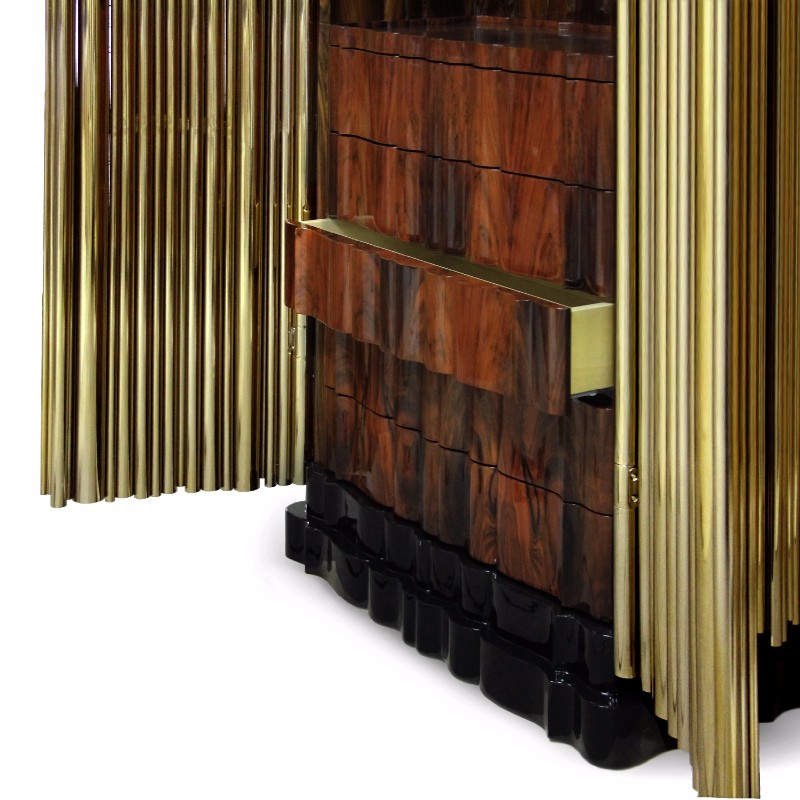 bedroom cabinet design bedroom cabinet design Exquisite Master Bedroom Cabinet Designs Boca Do Lobo Golden Cabinet Symphony Luxury Furniture Exclusive Design 2