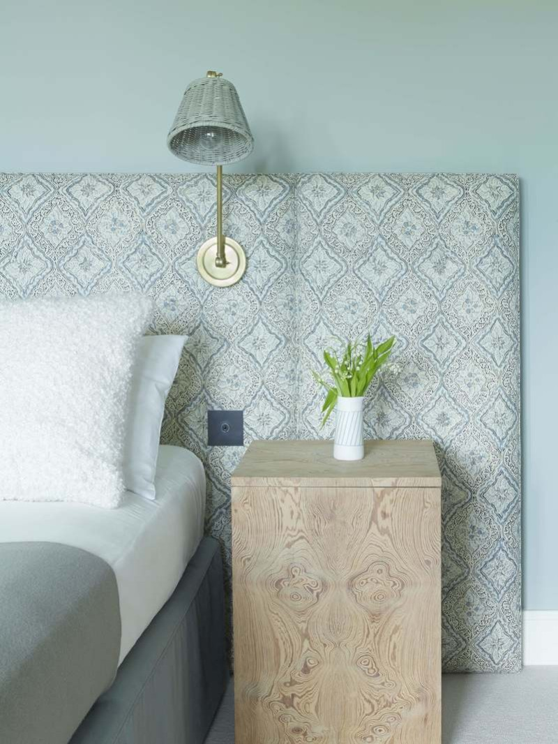 one night stand One Night Stand Ideas for Subtle Master Bedrooms Charming Bedroom Detail at Eton Road by Fran Hickman