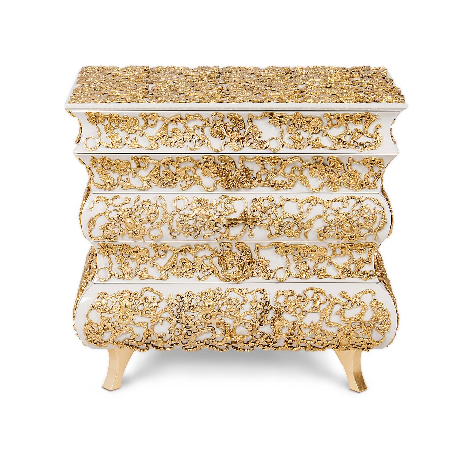 contemporary nightstand contemporary nightstand 25 Most Expensive Contemporary Nightstands Crochet Nightstand by Boca Do Lobo 8970