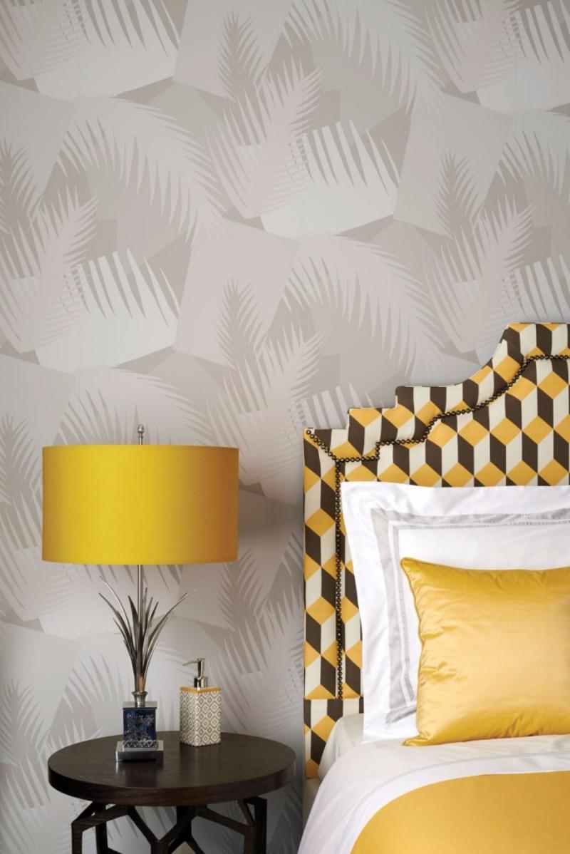 design wallpaper Design Wallpaper Ideas for Modern Master bedrooms Design Wallpaper Ideas for Modern Master bedrooms tropical grey