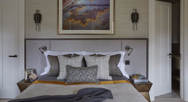 neutral bedroom 10 Smooth Neutral Bedrooms by Famous Interior Designers Family House Bedroom detail by Helen Green Design
