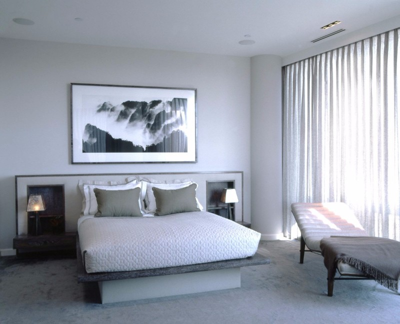 neutral bedroom neutral bedroom 10 Smooth Neutral Bedrooms by Famous Interior Designers Grey Astor Place Residence Bedroom by Kristen McGinnis