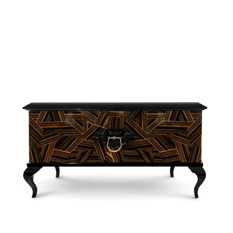 contemporary nightstand 25 Most Expensive Contemporary Nightstands Guggenheim Nightstand by Boca do Lobo 3570