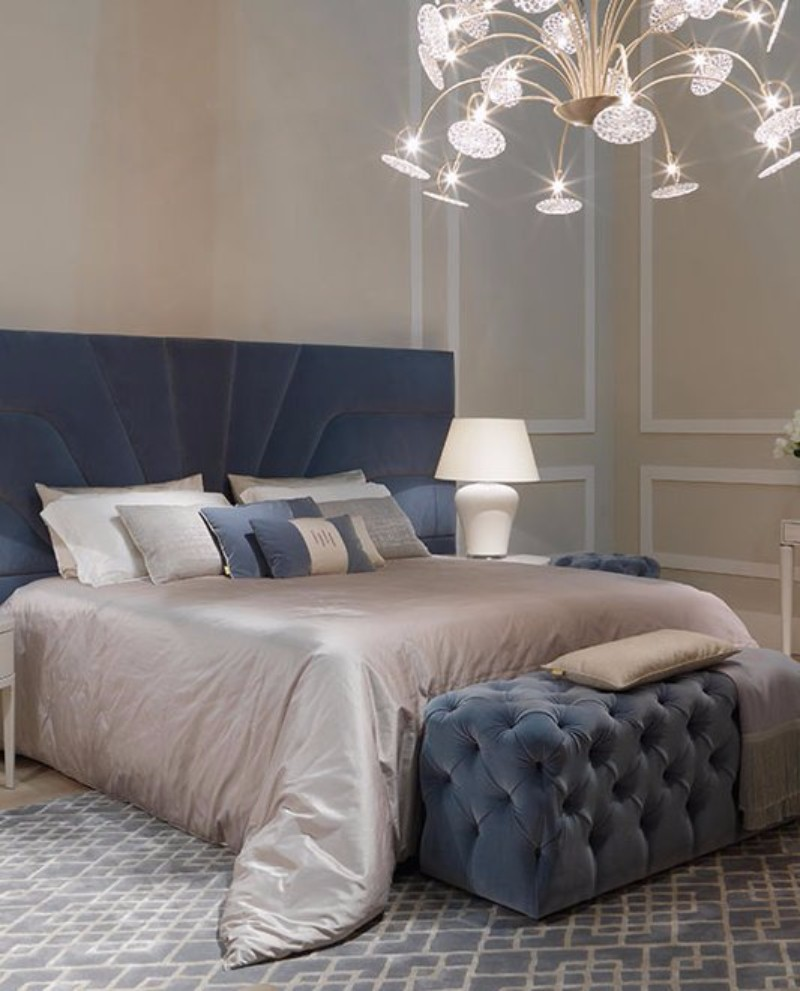 master bedroom 10 Magnificent Upholstered Master Bedroom Benches HH Bellevue armchairs Haussman bed Emile bedside tables 3880921660