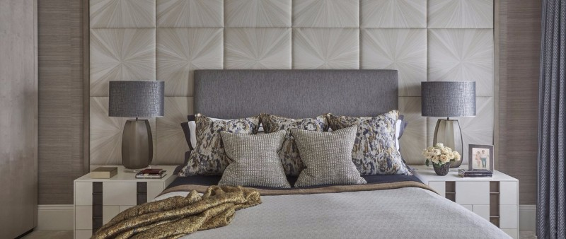 neutral bedroom 10 Smooth Neutral Bedrooms by Famous Interior Designers Master Bedroom Detail by Helen Green Design