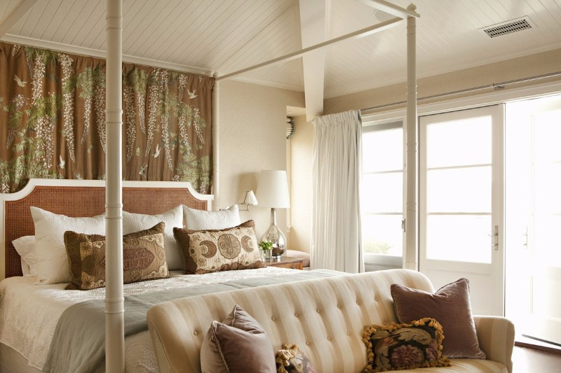 beach style 10 Beach Style Bedrooms with a Grain of Salt Newport Beach Bedroom by Peter Dunham Design