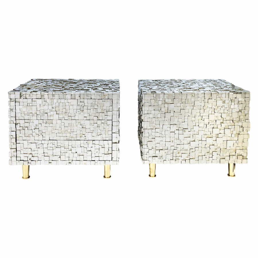 contemporary nightstand 25 Most Expensive Contemporary Nightstands Pair of Bedside Tables by Kam Tin    22