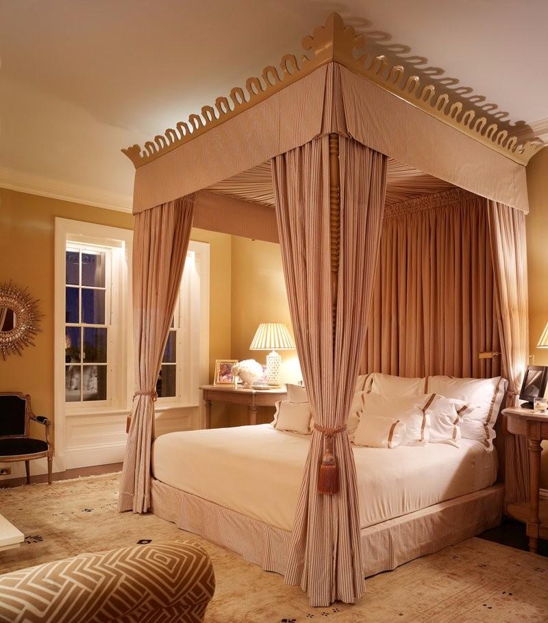 pink bedroom Subtlety and Charm with 10 Pink Bedroom Designs Palatial Master Bedroom design by Kirsten Kelli LLC