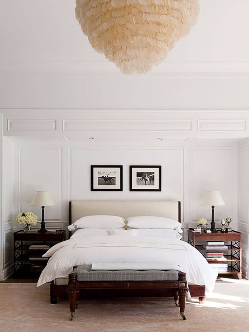 master bedroom 10 Magnificent Upholstered Master Bedroom Benches Perfect preppy bedroom design