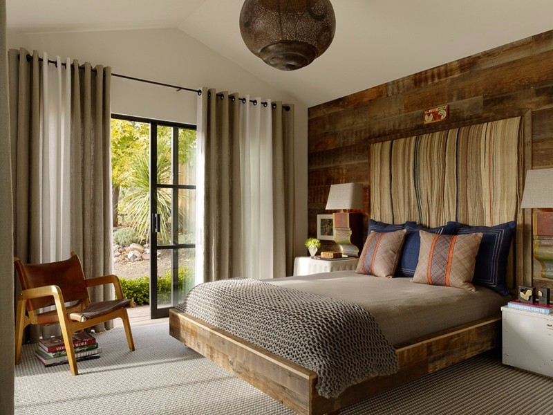 beach style 10 Beach Style Bedrooms with a Grain of Salt Sleek Napa Valley Bedroom By Jay Jeffers
